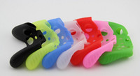 Wholesale game Colorful Soft Silicone Rubber Case Skin Grip controller protector Cover For Microsoft Xbox One Xbox Wireless Controller