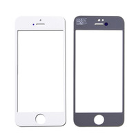 Cheap 10pcs Free HK Post Shipping OEM Front Screen Glass Replacement Parts for iPhone 5 5C 5S Outer Glass Lens