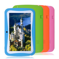 apps for kids - Hot inch Kids Tablet PC With Children Educational Apps Quad Core G ROM Dual Camera WiFi PAD for Children