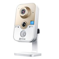 alarm monitoring internet - Broadlink EZVIZ C2S Smart CCTV Night Vision Security Alarm Internet IP Camera Webcam HD with MIC amp Recording Mini Monitor Camera