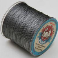 Wholesale Braided fishing line m Multi Color Super Strong Japan Multifilament PE braid line LB
