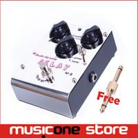 El envío libre MU0178 del bypass verdadero análogo de la viruta doble del pedal del efecto de la guitarra eléctrica de Biyang AD-8 libera el envío