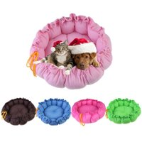 Wholesale High Quality Cute Pet Puppy Dogs Cat Bed Sleeping Bag Cushion Mat Kennel Nest Warm House NVIE