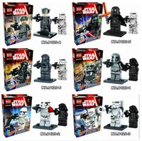 Wholesale 2016 STAR WARS Collection Sith Jedi Knight Building Bricks Blocks Super Hero Figures Minifigures Toys Compatible set