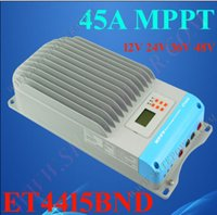 automatic solar controller - 45A v solar charge controller mppt function automatic voltage requlator