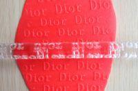 Wholesale Letter Shape Transparent Embossing Rolling Pins sugar craft tools Fondant Cake Decoration