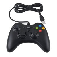 Wholesale 2015 Controller gamepad High quality Black Wired PC Controller for computer