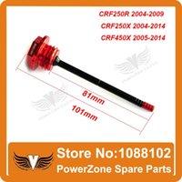 Wholesale CRF250R X Motorcross Engine CNC Alloy Oil Dipstick Filter Plugs Dirt Bike Parts order lt no track