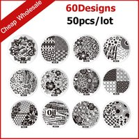Wholesale 50pcs New Fashion Designs Steel Plate Nail Art Image Polish Stamp Stamping Template Manicure DIY Tools