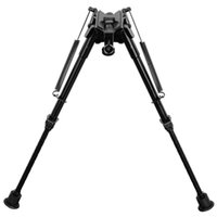 Wholesale 9 inch Harris Model extendable leg gun mounted fixed bipod for hunting Rifle