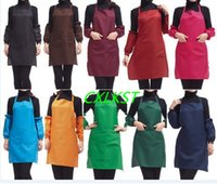 Wholesale Plain Apron with Front Pocket Bib Kitchen Cooking Craft Baking Art Jamming Adult