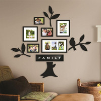 mounted photo frames - Art Frames Wall Mounted Family Tree Photo Wall Mounted Frames for Home Decoration Boxes CM
