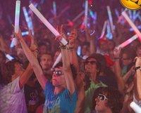 Wholesale cm multi color led foam stick led foam baton glow stick for wedding party