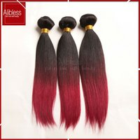 Cheap Burgundy Hair Weave Free Shipping Remy Hair Weave
