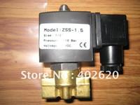 Wholesale 10pcs sets Nomal close solenoid valve quot solenoid valve ZSS solenoid valve Gurantee ZSS Series two Way Valve
