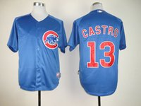 throwback jerseys - New Chicago Cubs Throwback Baseball Jerseys Ron Santo Ernie Banks Ryne Sandberg Starlin Castro Greg Maddux Jersey