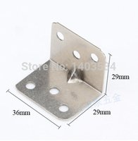 angle iron support - 12pcs mm nickel finish Iron angle bracket T shape frame board support