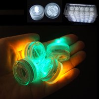 atmosphere color - Submersible led candle White Color underwater LED Submersible Candles led candle tealight Night light Lamp cheap