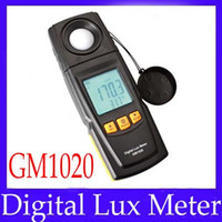 Wholesale Digital Lux Meter Photometer Luxmeter LCD Light Tester GM1020 MOQ