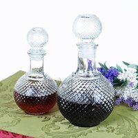 best wine glass brands - Best Promotion Newest ml Crystal Whiskey Wine Shot Glass Bottle With Cap Stopper Drinking Bar Decanter Brand New