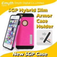 sgp stand - SGP Holder stand Hybrid Slim Armor Color Case Cover without Retail Package for Apple iPhone plus inch
