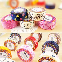 adhesive tape - 30pcs Satin face decorative tape Adhesive tape washi cloth tapes stickers masking tape Stationery School supplies