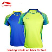 Wholesale For new badminton shirt badminton clothes table tennis shirt table tennis clothes T shirt