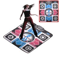 Wholesale English menu new dance pad dance mat mm Non Slip Dancing Step Dance Game Mat Pad for TV PC with USB order lt no track
