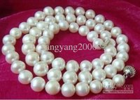 australian south sea pearls - mm natural Australian south sea white pearl necklace inch