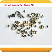 Wholesale set Original Full Set Screws For iPhone S