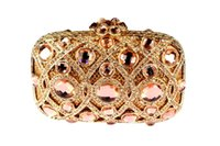 Wholesale Luxury Evening Rhinestone Clutch Bags Trendy Handbags Designer Evening Bags Womens Chain Handbags Party Prom Purse B320