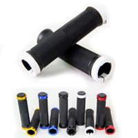 Wholesale Durable Anti slip Soft Rubber Aluminum Alloy Integrated Lockable Handlebar Grips for Mountain Bike Bar Grips Bicycle Accessories