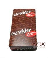 smoking paper - 50 Booklets of EZ WIDER Double Wide Packs Cigarette Rolling Paper Brand New Sealed mm smoking rolling paper box
