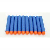 gun safe - 100pcs cm High quality safe Blue Foam Toy Nerf Gun Bullet Darts for Nerf N strike Elite Series Blasters Toy gun toy for kid