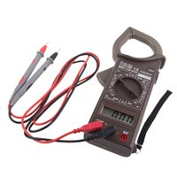 Wholesale Clamp Meter AC DC Voltage AC Current Resistance Insulation Tester Digital Earth Ground Uni t Meter Megohmmeter HYELEC M266