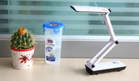 Wholesale led charge lamp eye study table lamp office lamp Foldable Folding Touch Controlled