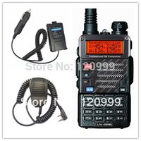 bettery car - BAOFENG UV RB Dual Band Radio walkie talkie HF amp CB amp Ham portable Radio with headphones Shoulder Speak Mic car bettery