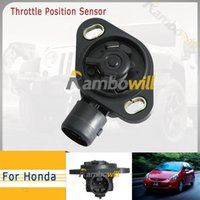 4wd parts - Car Atuo Throttle Position Sensor Part TPS JT3R30512 Fit For Honda Accord Acura Civic Del Sol CRX CRV Prelude Vehicle Off road x4 wd