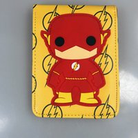 arrow wallets - HIGH QUALITY HOT MARVEL PURSE DC COMICS THE FLASH ARROW WALLET PU LEATHER SUPERHERO WALLETS DOLLAR PRICE DROP SHIP