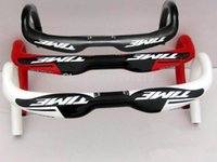 Wholesale 2015 Newest TIME road full carbon fiber bike handlebar k carbon bicycle Handlebar mm black red white