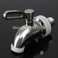 beer tap parts - New Stainless Steel Spigot Faucet keg Tap for Beverage Wine Beer juice Dispenser Parts hydrovalve ceramics valve core
