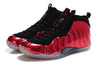 authentic shoes - new foam posite PRO men s basketball shoes Penny Hardaway Foam Men Authentic shoes black red