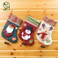 army ornaments - Santa Claus Christmas stocking Christmas stocking decoration cm Christmas Stocking Christmas stockings foreign trade JIA306