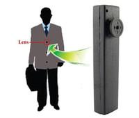 Wholesale Mini Spy Button Camera Hidden Pinhole Camera Mini DV Built in G DVR Voice Video Recorder Freeshipping