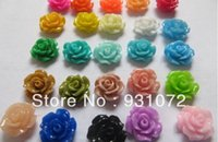 Wholesale Free FedEx Shipping Mixed Rose Resin Beads Flatback Cabochon Scrapbook Fit Phone Embellishment mm mm beads