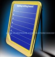 Wholesale 120pcs New arrival fluorescence message board led flashing WordPad led writing display board freeshipping order lt no track