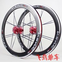Wholesale Bicycle Parts Bicycle Wheel Machete fold bike wheels v disc brake bicycle wheels mm ultra light folding bike wheelset with hubs