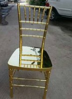 Wholesale 2016 Gold Polish Wood Banquet Chiavari Weddning Chairs Stacking Wooden Chiavari Chair