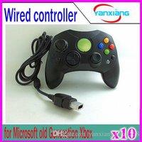 10pcs Wired Controller S Type 2 A pour Microsoft Vieille génération Console Xbox Gamme de contrôle de jeu vidéo YX-XBOX-03