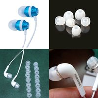 Wholesale Wholesales Pairs Clear M Size Replacement Silicone EARBUD Tips For Universal Headphone In Ear Earphones